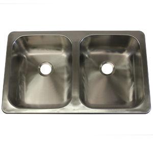 lasalle bristol 25 u0026 x22  x 15 u0026 x22  x 5 u0026 x22  lasalle bristol 25   x 15   x 5   stainless steel rv kitchen sink      rh   mobilehomepartsstore com