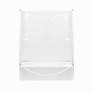American Fiberglass 54u0026quot; x 27u0026quot; White Sectional ...  sc 1 st  Mobile Home Parts Store : white sectional - Sectionals, Sofas & Couches
