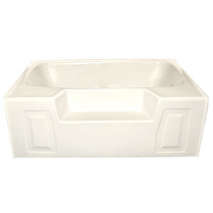 American Bath 54 X 42 Almond Standard Gauge Abs Garden