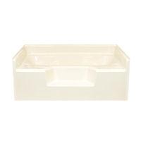 American Fiberglass 60 X 48 Almond Garden Tub