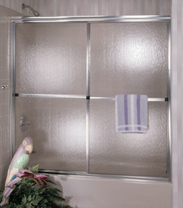 Coastal 54 quot  Bypass Shower DoorCoastal 54  Bypass Shower Door   Mobile Home Parts Store   125704. Mobile Home Shower Doors. Home Design Ideas