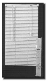 1 inch vinyl mini blinds 32quot 56quot white 1quot 32