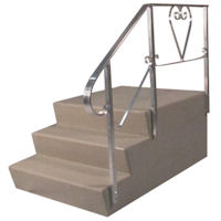 Mobile home stairs mobile home steps mobile home parts for Pre built stairs
