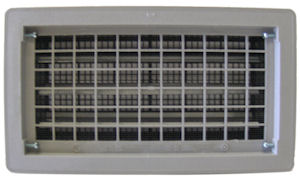 gray automatic foundation vent - Foundation Vent Covers
