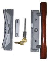 WCM Old Style Patio Door Lock