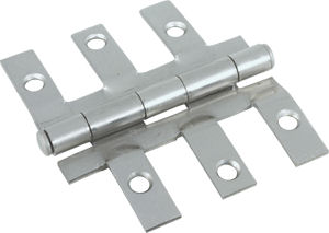 Fastec Satin Nickel 6 Finger Interior Door Hinge