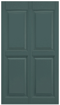 Custom Raised Panel Double Wide Exterior Shutters Mobile Home Parts Store Custom Raised