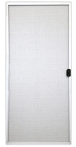Kinro White Aluminum Sliding Patio Door Screen