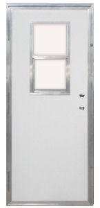 32 x 72 kinro out swing exterior door with vertical sliding window tenergyrechargeablebatteries