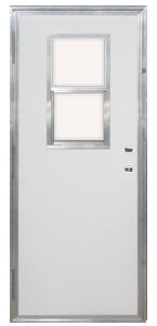 34 X 80 Kinro Out Swing Exterior Door With Vertical Sliding Windo