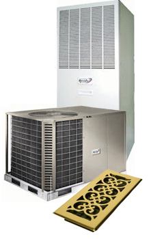 Air Conditioner In Front Of a Furnace