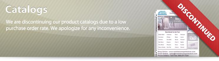 Mobile Home Parts Catalog | Mobile Home Parts Store | catalogs