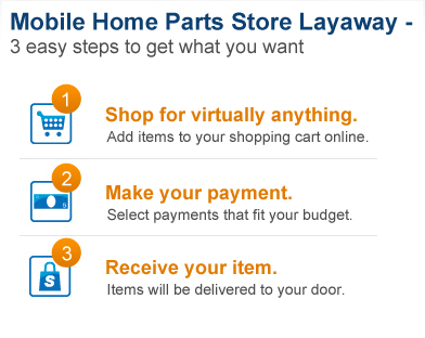 With our online layaway store, you can take advantage of today's low prices, and you don't have to put down a large lump sum up front. Big ticket items like home appliances and electronics are super affordable when you pay by installments. Online layaway is also available for everyday items like clothing, accessories and shoes.