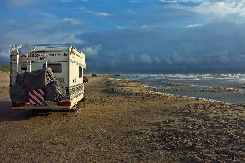 rv at beach