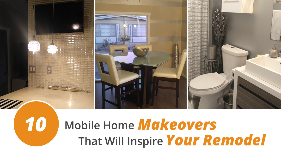 Mobile home remodeling materials for sale.