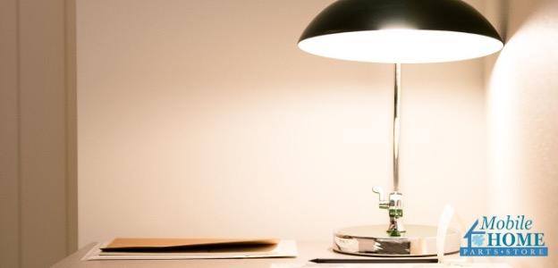 Interior lighting example; lamp