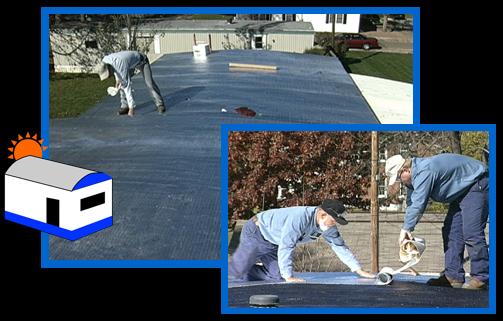 Peel & Seal Aluminum Roll Roofing - Ashvillemobilehomes.com - #1