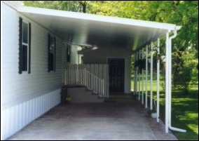 carport designs mobile homes