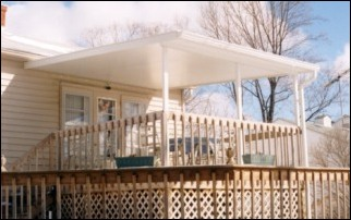 Decks with Roof On Mobile Homes