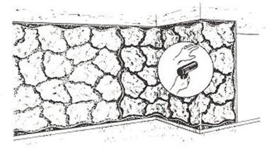 Using A Heavy Duty Heat Gun To Bend Panels Around A Corner.