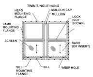 Kinro 30 Quot X 54 Quot White Vinyl Vertical Sliding Window