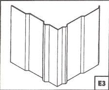 Panel Bent At A Ninety Degree Angle.
