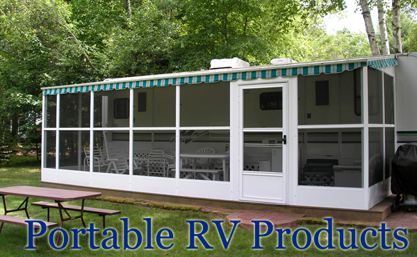 Rv screen rooms Rv room additions